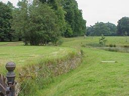 The haha fence